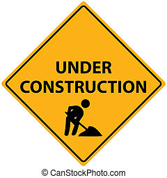 Under Construction Vector - Vector illustration of an Under...