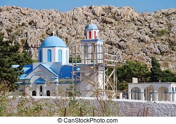 Emborio cemetery church, Halki