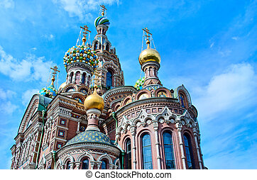 Church of the Saviour on Spilled Blood Spas na Krovi, St...
