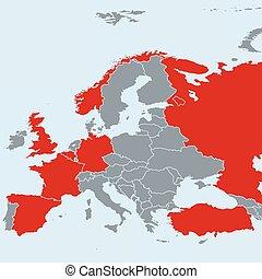 Previous terrorist attacks in Europe