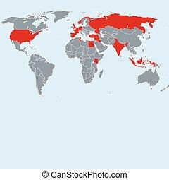 Previous terrorist attacks in the World