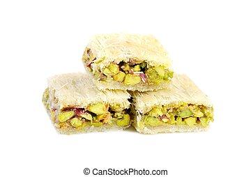 Arabic pistachios sweets