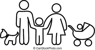 Concept of family in a linear style