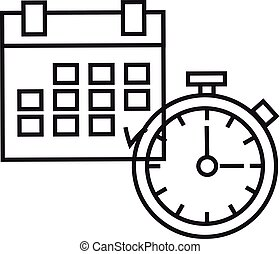 Time Planning. The clock and calendar - The concept of time....