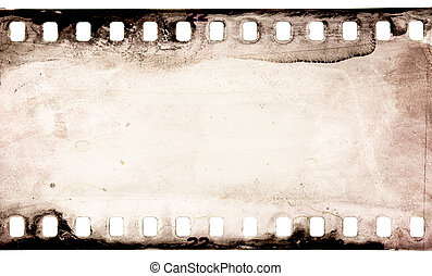 film background - grunge filmstrip, may use as a background