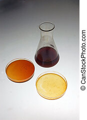 crude oil - Samples of light crude oil from an exploratory...