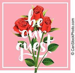romantic wedding invitation design