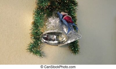 Christmas wreath with bell
