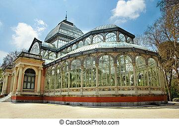 Palacio de Cristal, Madrid - Palacio de Cristal in Parque...