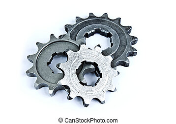 pile of gears