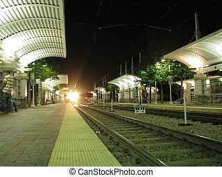 solo, estación