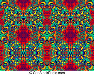 Fabulous multicolored pattern You can use it for...