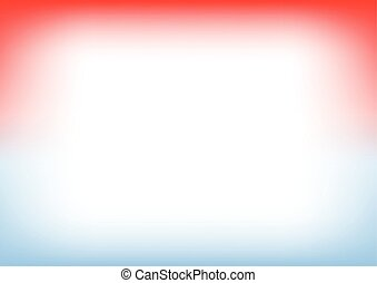 Blue Serenity Red Copyspace Background