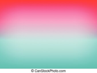 Pink Sky Blue Gradient Background