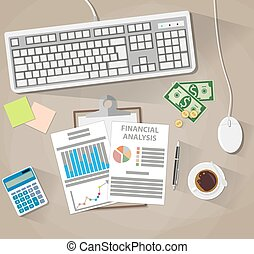business analysis and planning, financial report - Business...