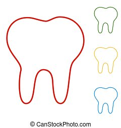 Tooth line Icon