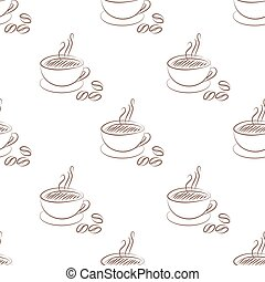 coffee cup seamless