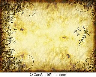 arabesque design - excellent swirling arabesque design...