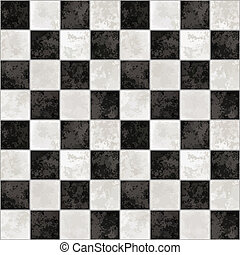 chessboard - a large background of black and white marble...