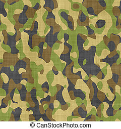 camouflage cloth - large image of cloth printed with...