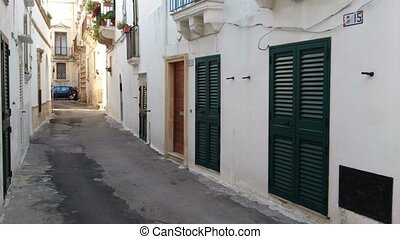 Small street in Gallipoli - Characteristic small street in...