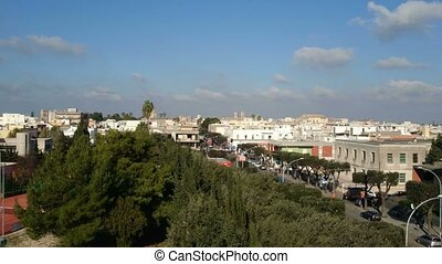View of the city of Nardo, in Salento, southern Italy