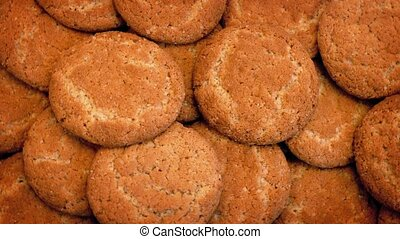 Biscuits Rotating Slowly