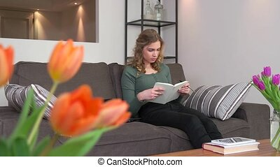 Girl Student Young Woman Studying