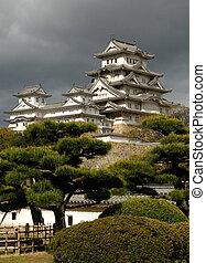 Himeji-joCastle in Himeji, Japan - Japanese castle in Himeji...