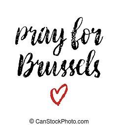 rezar, Bruxelas, Coração, vermelho