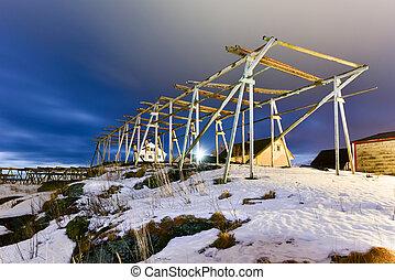 Reine, Lofoten Islands, Norway - Winter in Reine, Lofoten...