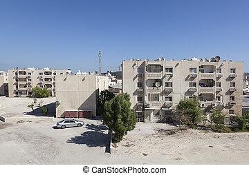 Residential buildings in Bahrain