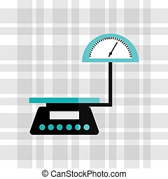 measure weight design, vector illustration eps10 graphic