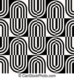 Seamless Ellipse Pattern - Vector Seamless Texture Geometric...