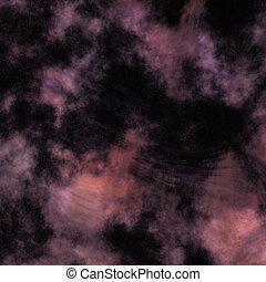 Space Starry Nebula