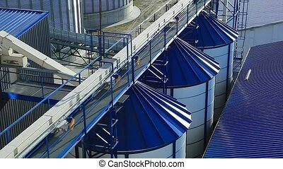 Tanks for the Storage of Grain Granary.