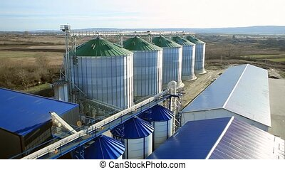 Silo Grain Tank Granary Elevators