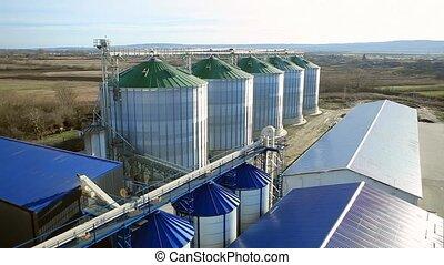 Silo Grain Tank Granary Elevators.