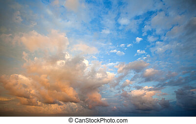 cielo, nublado