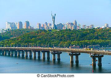 Kiev skyline, Ukraine