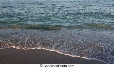 Evening Sea Surf