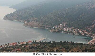 Summer Morning Agia Efimia Coast ( - Morning misty summer...