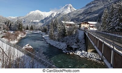 Haselgehr village Winter View - Haselgehr village winter...