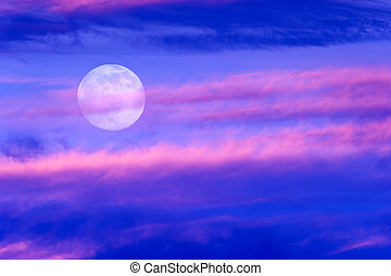 Moon Clouds - Moon clouds is a soft beautiful cloudscape...