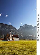 St. Coloman near Schwangau - The well-known church St....