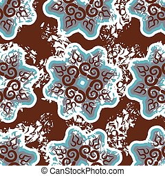 Armenian seamless pattern. Traditional national pattern of...