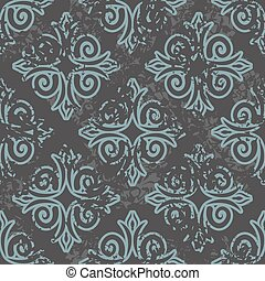 Georgian seamless pattern. Traditional national pattern of...
