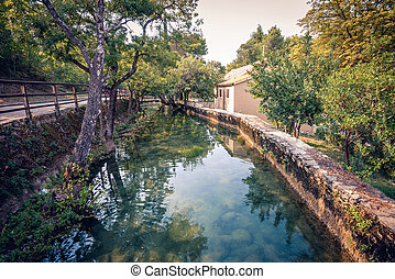 Souvenir house in Krka national park - Souvenir house at...