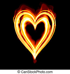 heart on fire
