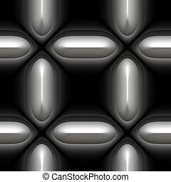 chain link mesh - a large image of silver or chrome chain...